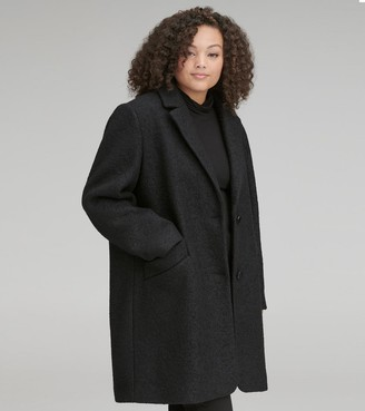 Marc New York   Final Sale Paige Plus Pressed Boucle Coat