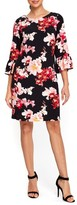Wallis Women's Orchid Blossom Bell Sleeve Dress