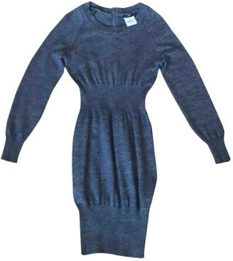 Chanel Grey Linen Dresses