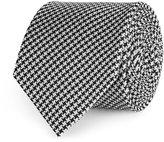 Reiss Hundred - Silk Tie in Black, Mens