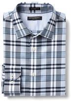 Banana Republic Camden-Fit Non-Iron Multi Checkered Shirt