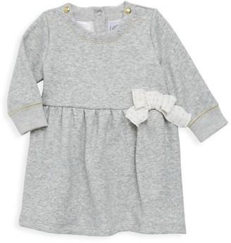 Petit Bateau Baby Girl's Heathered Dress