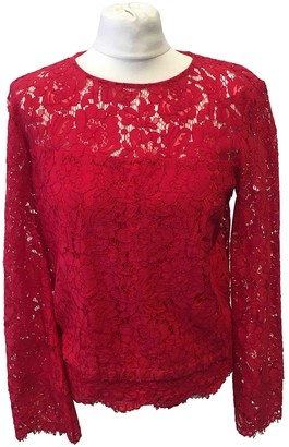 Diane von Furstenberg Red Top for Women