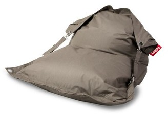 Fatboy Large Sunbrella Outdoor Friendly Bean Bag Lounger Fabric: Sandy Taupe