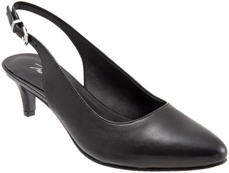 Trotters Low Pump Slingbacks - Keely