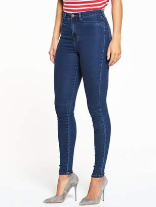 Very Short Addison High Waisted Super Skinny Jean