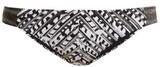 Biondi - Ceylon-print Bikini Briefs - Womens - Black Print