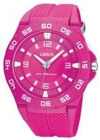 Lorus Women's Watch XL Analogue Quartz Rubber r2343fx9