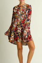Umgee USA Falling For Floral Dress