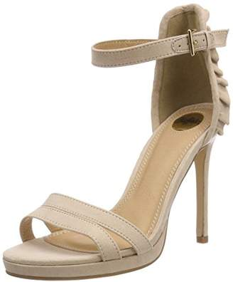 Buffalo David Bitton Women's 316383 BHWMD A16# IMI Suede Ankle Strap Sandals