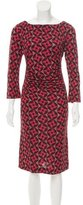Tory Burch Printed Midi Dress