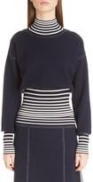 Loewe Women's Stripe Knit Turtleneck