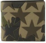 Valentino Camouflage-print Canvas Wallet