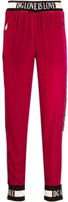 Dolce & Gabbana Love is love track trousers