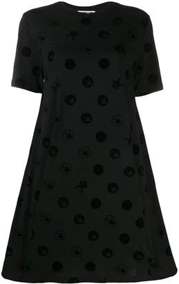McQ Spot motif T-shirt dress