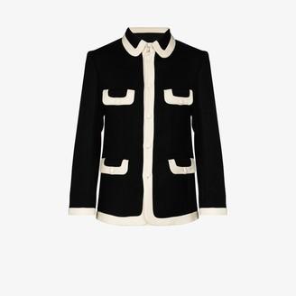 Casablanca Four Pocket Tailored Jacket