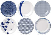 Royal Doulton Pacific Accent Plates Mixed Set of 6
