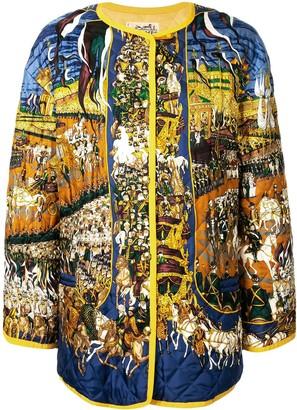 Hermes Grand Cortege a Moscou print jacket