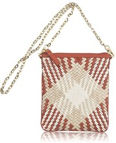Genevieve Plaid North/South Mini Crossbody Bag