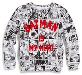 Eleven Paris Toddler Boy's Little Elevenparis Batman Comic Sweatshirt