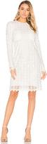 Carven Mini Dress in White