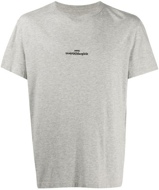 Maison Margiela upside down logo T-shirt