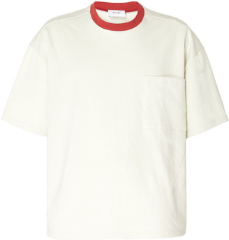 Rhude Box Crewneck Cotton T-Shirt