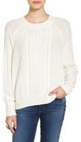 BP Women's Cable Knit Dolman Sweater