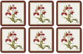 Pimpernel R.H.S. Botanical Orchid Coasters (Set of 6)