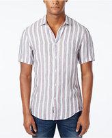 Michael Kors Men's Slim-Fit Dorian Striped Short-Sleeve Shirt