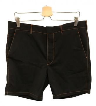 Prada Black Cotton Shorts