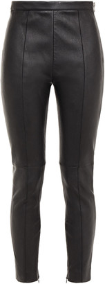 Alexander Wang Cropped Stretch-leather Skinny Pants