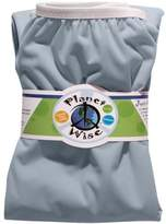 Planet Wise Reusable Diaper Pail Liner, Baby Blue by Planet Wise