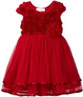 Popatu Soutache Tiered Dress (Toddler & Little Girls)