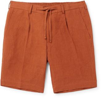 Beams Cotton Drawstring Shorts