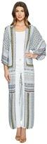 Hale Bob Clean Slate Tayon Woven Kimono Women's Clothing