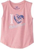 Roxy Girls' Heart Adventure TW Muscle Tee (2T7) - 8164749