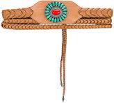 Etro stone embellished waist belt