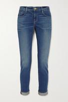 Frame Le Garcon Slim Boyfriend Jeans - Mid denim