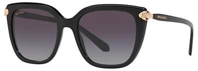 Bvlgari BV8207B Women's Embellished Square Sunglasses