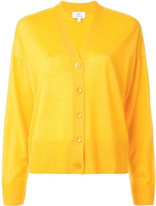 CK Calvin Klein Fine Knit Buttoned Cardigan