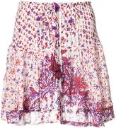 Poupette St Barth Kila Mini Skirt with Tassel
