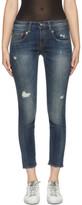 R 13 Blue Boy Skinny Jeans