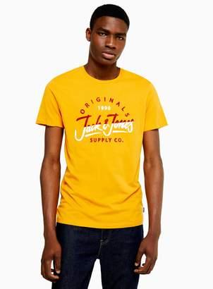 Jack and Jones TopmanTopman Yellow T-Shirt
