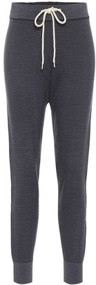 Varley Alice cotton-pique trackpants