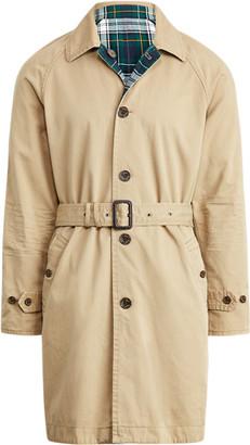 Ralph Lauren Reversible Balmacaan Coat