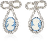 Jennifer Behr Guilia Silver-Tone And Crystal Earrings