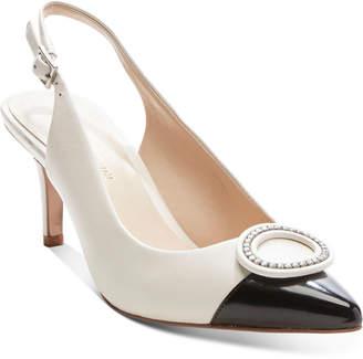 Enzo Angiolini Danalee Classic Slingback Pumps Women Shoes