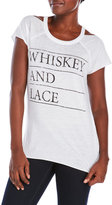 Chaser Whiskey & Lace Cutout Tee