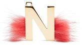Fendi ABClick letter 'N' key charm